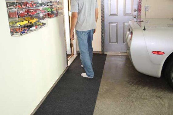 Garage floor runners