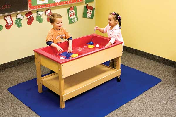 sand and water table mat