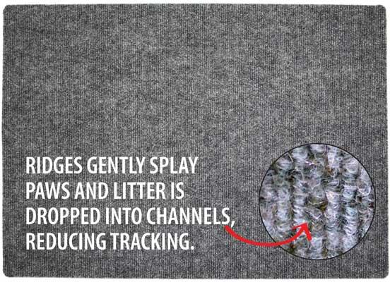 litter trapping mat
