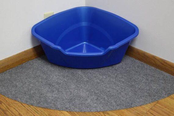 Corner Litter Mat